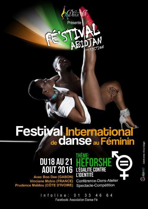 flyer féminin festival